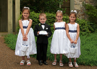 子供結婚式 写真