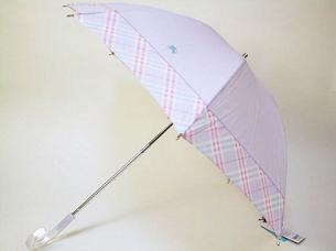 バーバリー日傘
