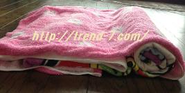 バスタオル枕3
