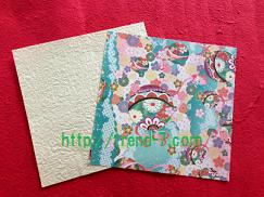 折り紙ぽち袋 1